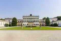 在Cassano d'Adda (米兰)的别墅Borromeo 免版税库存照片
