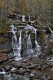 在catskill山脉的瀑布 免版税库存照片