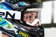 在Cavallara 10的摩托车越野赛 库存图片