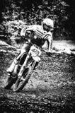 在Cavallara 17的摩托车越野赛 库存照片