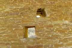 在Chaco峡谷的废墟 免版税图库摄影
