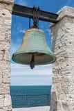 在Chersonesus的大响铃在克里米亚,在塞瓦斯托波尔附近 免版税库存照片