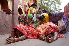 在Chhath节日的Dondi 免版税库存图片