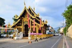 在chiangmai泰国的生活 免版税库存照片