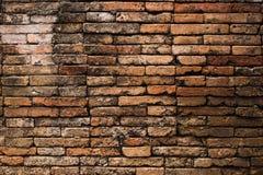 在chiangmai的老砖墙 库存照片