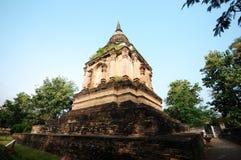 在chiangmai,泰国的古庙 库存照片