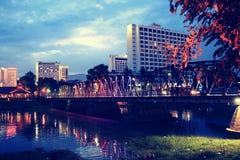 在chiangmai,泰国的美好的风景 库存图片