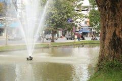 在chiangmai,泰国的风景 免版税库存图片