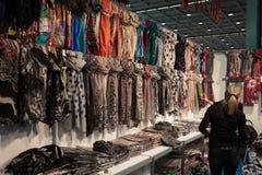 在Chibimart的种族织品2013年在米兰,意大利 库存照片