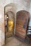 在Chillon城堡里面,瑞士 库存图片
