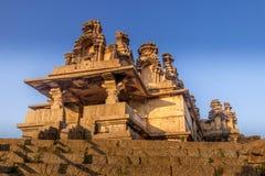 在chitradurga建筑学卡纳塔克邦的堡垒 免版税库存照片
