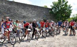 在Chortkiv_32的天自行车 库存照片