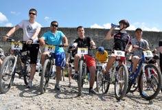 在Chortkiv_37的天自行车 免版税库存图片