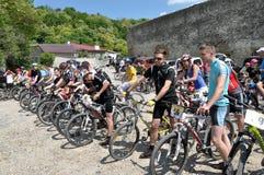 在Chortkiv_35的天自行车 免版税库存照片