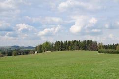 在Chrudim附近的蓝天 免版税库存照片
