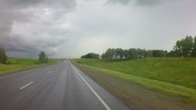 在Chuysky Trakt的暴风云 影视素材