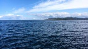在Cies海岛的海滨