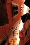 在Cinque Terre的街道 免版税图库摄影