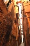 在Cinque Terre的街道 免版税库存照片