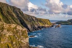 在Co的峭壁 爱尔兰凯利 免版税库存图片