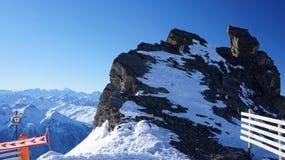 在Combe Rosael的岩石 免版税库存图片