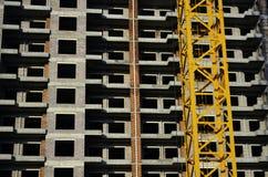 在Construciton之下的大厦 免版税库存图片
