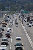 在Coquitlam的交通堵塞 库存图片
