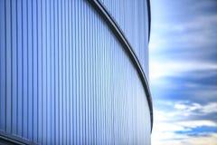 在Cornella选址的RCDE Espanyol体育场de llobregat 唯一 库存图片