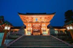 在daigoji寺庙的秋天 免版税库存照片