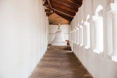 在Dambulla洞寺庙,斯里南卡的Stupa 免版税库存图片