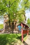 在Datsan Gunzechoinei的祷告鼓 大教堂圆屋顶isaac ・彼得斯堡俄国s圣徒st 库存图片
