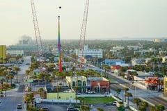 在Daytona海滩的A1A街道 免版税库存图片