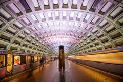 在DC的地铁 免版税库存照片