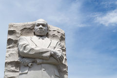 在DC的马丁路德金纪念品 库存图片
