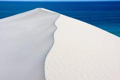 在De Hoop储备在西开普省,南非的沙丘 图库摄影