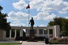 在Dealey广场的Dealey纪念碑在达拉斯,得克萨斯 库存图片
