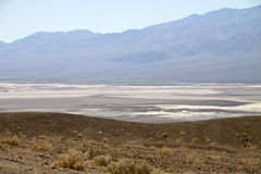 在Death Valley的横向 免版税库存照片