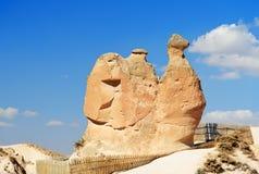 在Devrent谷的骆驼岩石在卡帕多细亚 火鸡 库存图片