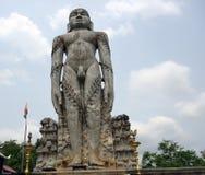 在Dharmasthala,卡纳塔克邦,印度的Gomateshwara Bahubali雕象 库存图片