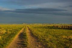 在Dillon附近,蒙大拿 图库摄影
