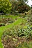 -在Diss西部在诺福克,英国-团结的Bressingham庭院 库存照片