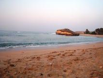 在Diu的美丽的海滨 库存图片