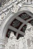 在Dolmabahce宫殿的皇家门在Istanbu 图库摄影