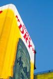在Dotonbori,大阪的一个大广告牌 库存照片