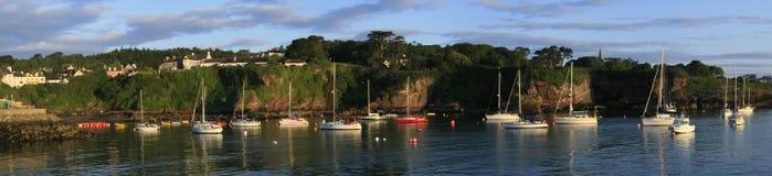 在Dunmore乘快艇停泊东部,沃特福德,爱尔兰 库存照片