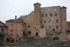 在eifel的城堡 免版税库存照片