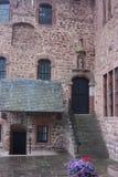 在eifel的城堡 库存照片