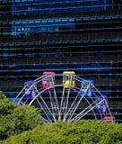 在Ekka皇家昆士兰展示的弗累斯大转轮在布里斯班 免版税图库摄影