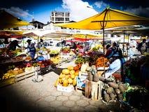 在El女低音的玻利维亚的市场 图库摄影