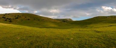 在El Pedraforca附近的非凡路线 图库摄影